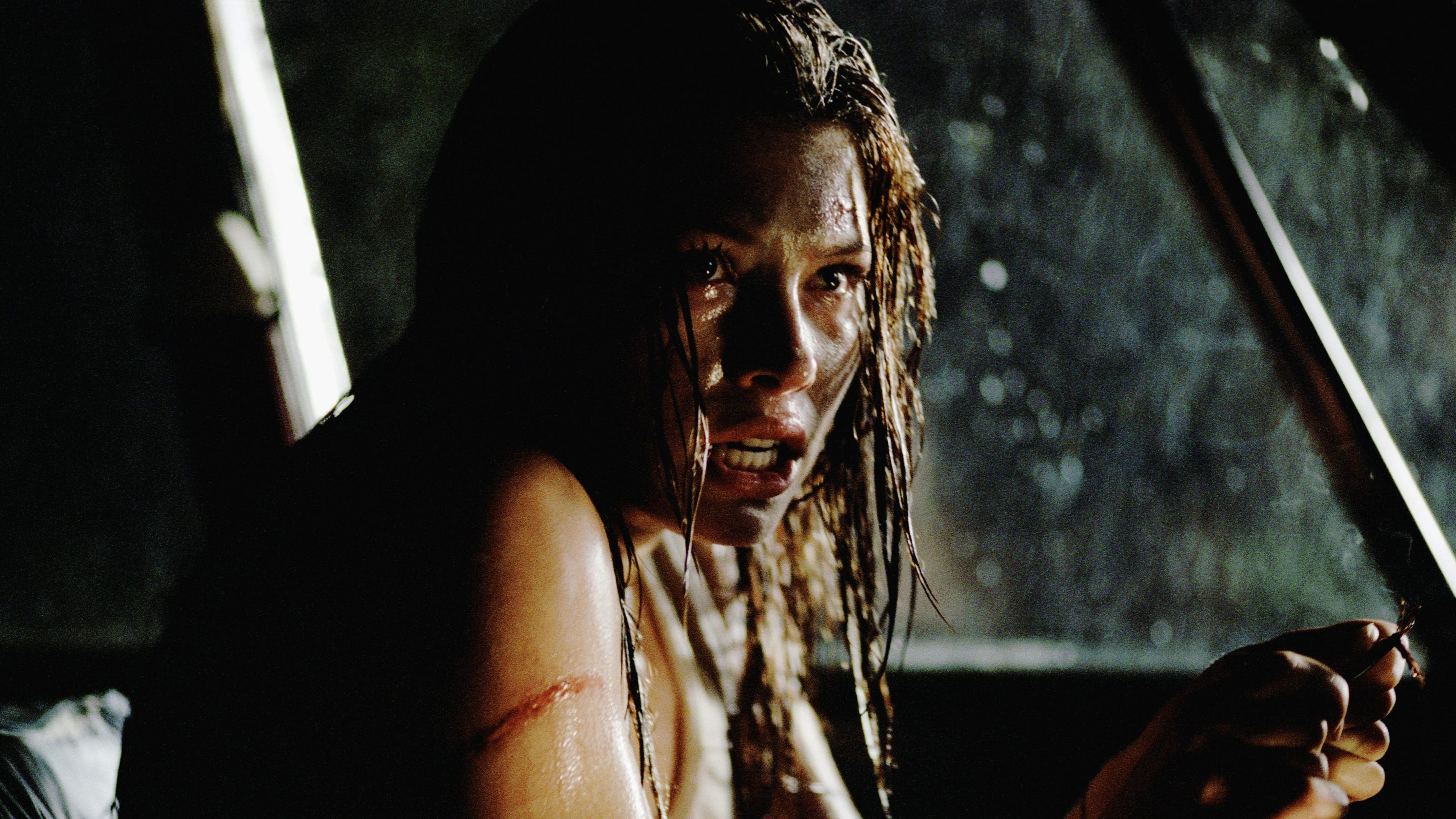 Jessica Biel shares her drop-dead gorgeous screen test for 'Texas Chainsaw Massacre'