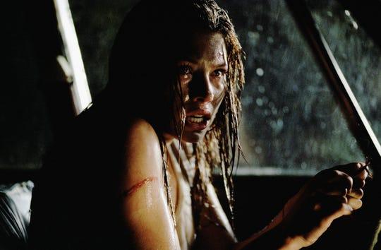 """Jessica Biel in a scene from the film, """"Texas Chainsaw Massacre."""""""
