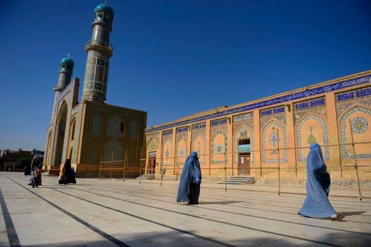In Herat, Afghanistan, in August 2019.