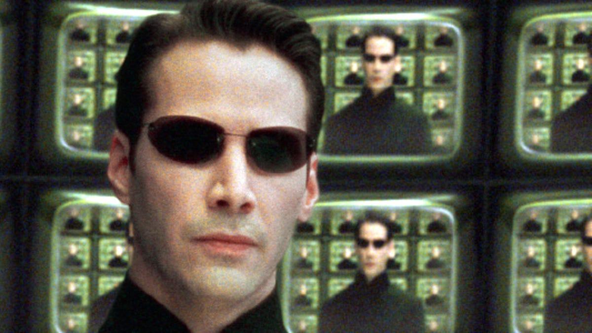 Pill or red matrix quote blue The Matrix