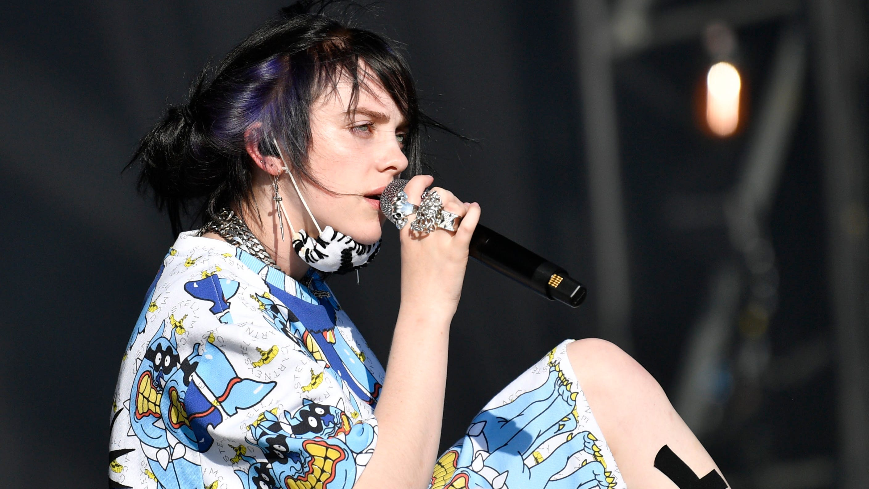 Billie Eilish Rips Nylon Germany Magazine For Topless Pic At 17