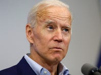 Joe Biden accidentally refers to Bernie Sanders as 'president'