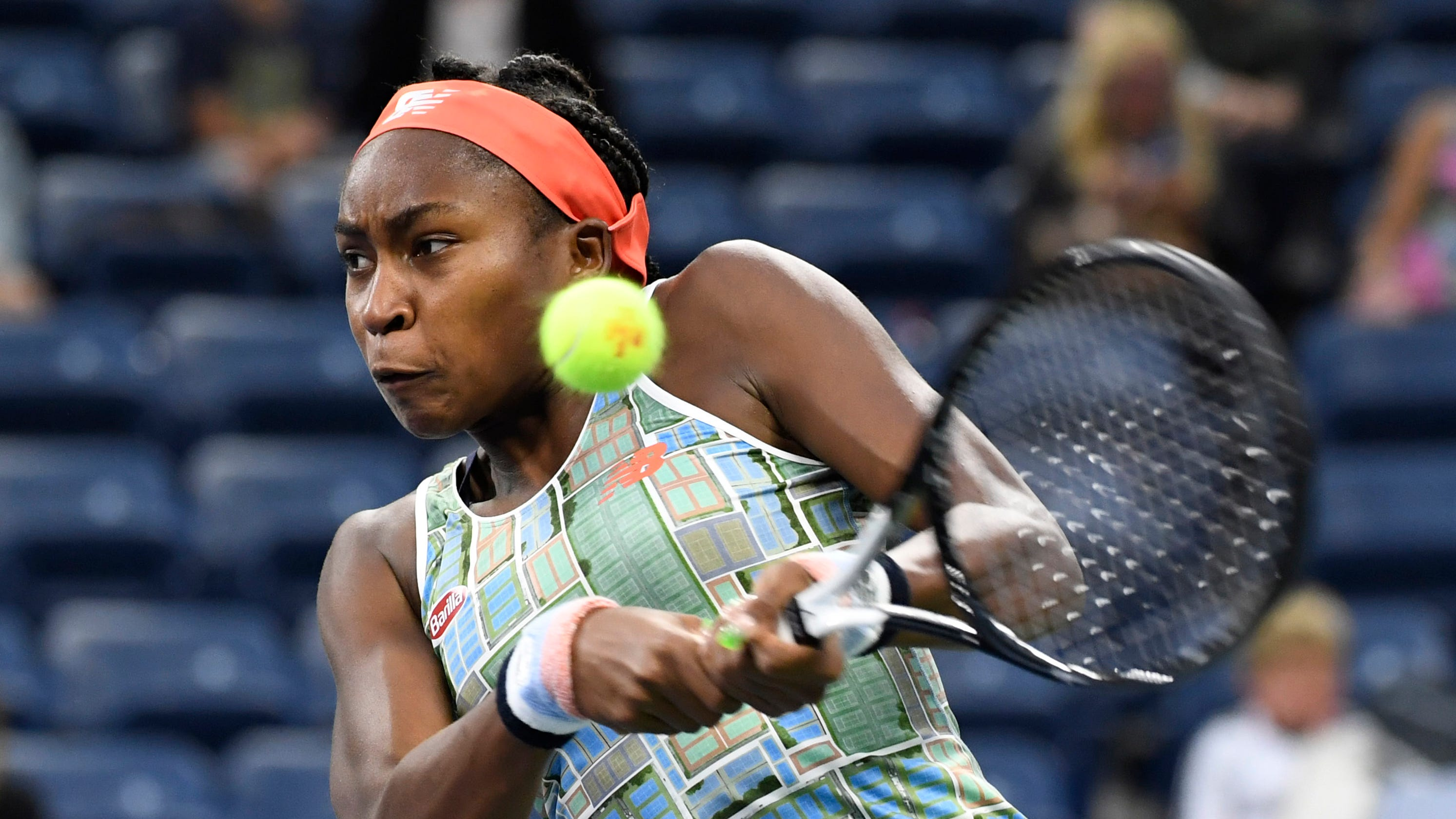 2019 US Open: Coco Gauff outlasts Timea Babos to reach third