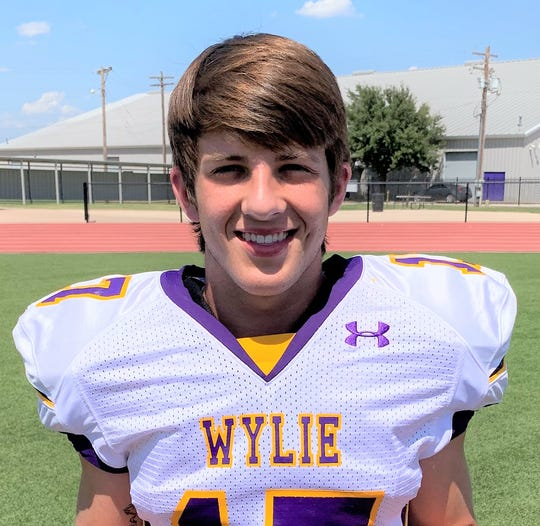 Wylie receiver Creed Cooper.