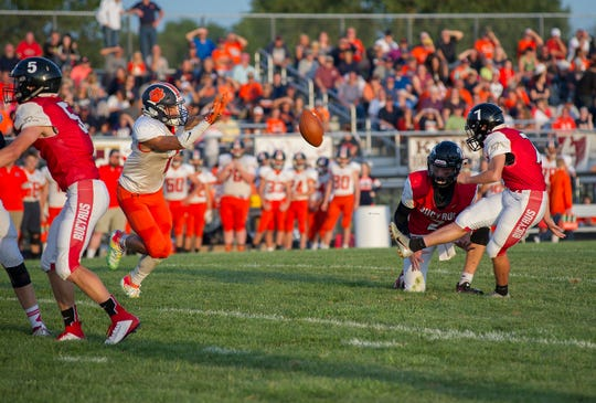 Bucyrus' Tyler Bishop was one of the most reliable kickers in the league.
