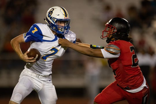 Odem defeats West Oso 20-7 at West Oso High School on Friday, Aug. 30, 2019.4