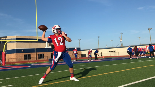 Jeremy Barker threw for 223 yards and four touchdowns in G-P's Week 1 win