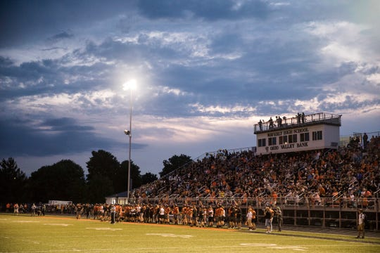 Waverly defeated Athens 30-27 Friday night in Waverly, Ohio, on August 30, 2019.