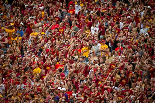 Iowa State fans are expected to pack the house again for Saturday's game against Iowa.