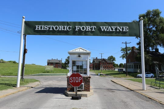 Historic Ft. Wayne is the site of Sunday's Market in the City.