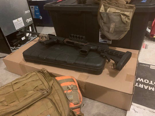 An airline passenger at Detroit Metro Airport was sent back to China on Aug. 18 after federal agents discovered body armor in his luggage and a cache of weapons in his U.S. residence.