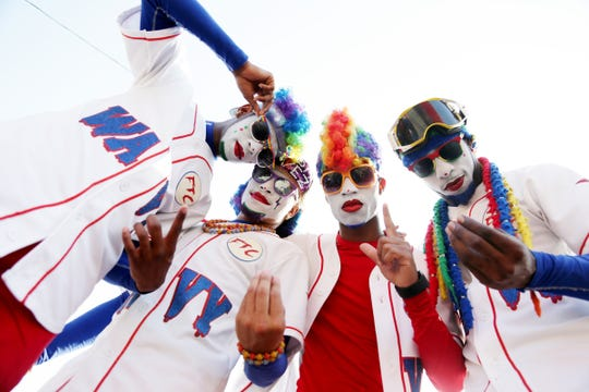 Detroit hipster clown troupe Fresh The Clownsss is again part of UniverSoul Circus.