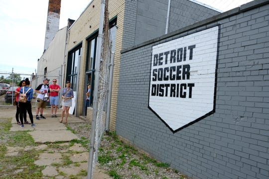 Detroit Soccer District celebrates their grand opening on Aug. 31, 2019, with a day-long tournament and block party on the city's west side.