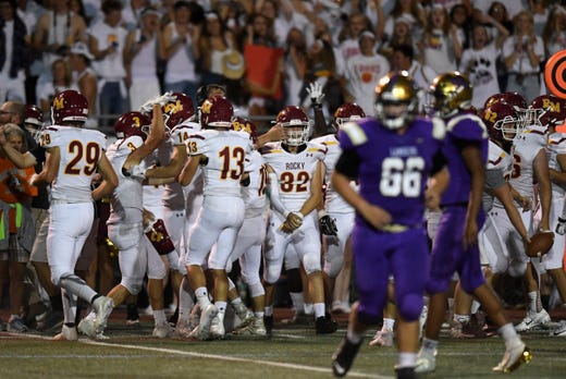 Rocky Mountain High Football Tops Fort Collins In Season