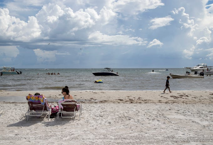 Fort Myers Beach hotels have seen fluctuations in reservations as some evacuees from Hurricane Dorian have canceled or changed their reservations.