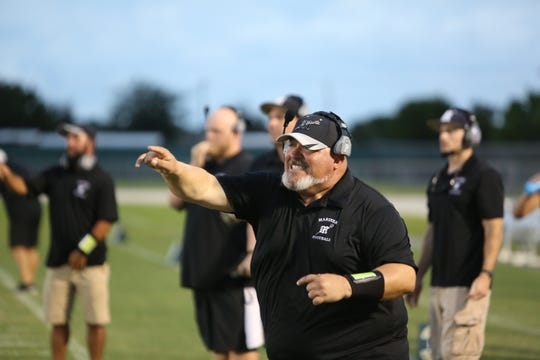 Mariner football coach Travis Smith stepped down Monday after six seasons and a 19-39 record.