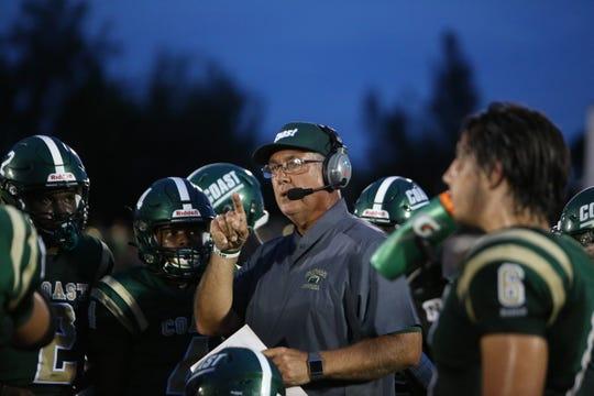 Island Coast High School football coach Jim Wiseman resigned his position on Jan. 31.