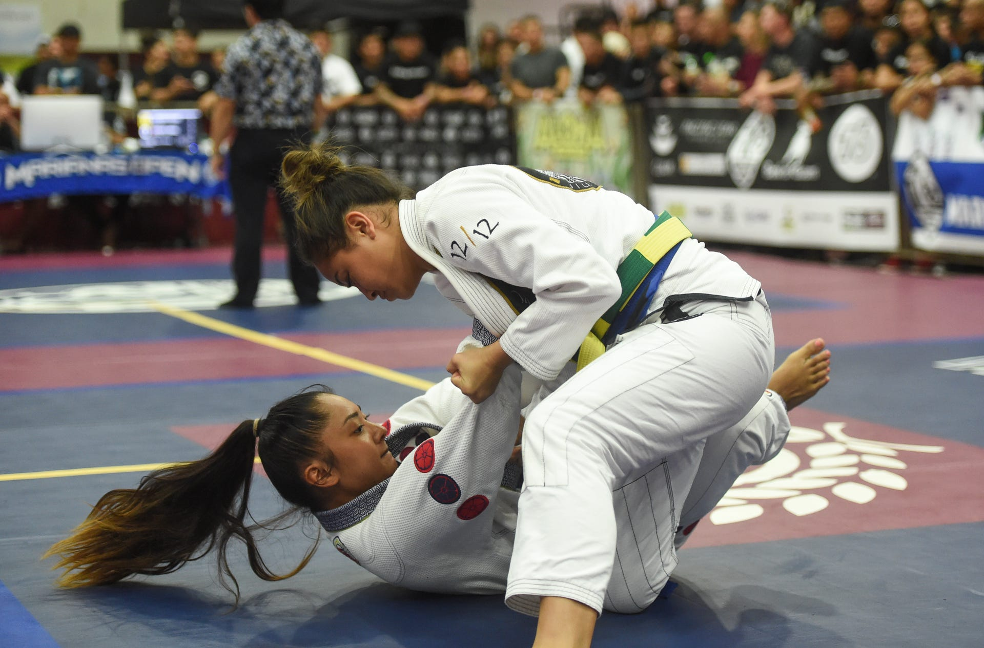BJJ fans gather for the 2019 Marianas Open