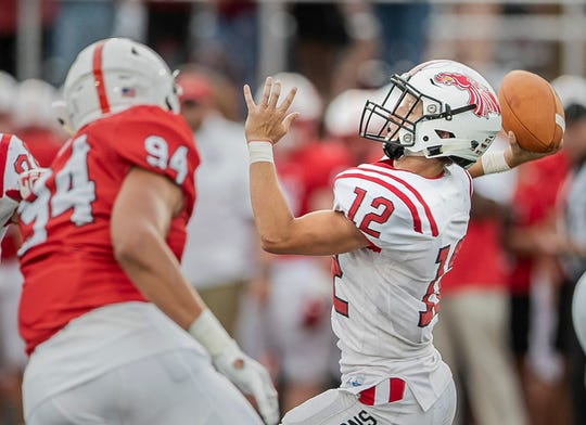Lincoln Roth continues to be a steady hand leading the New Palestine offense.
