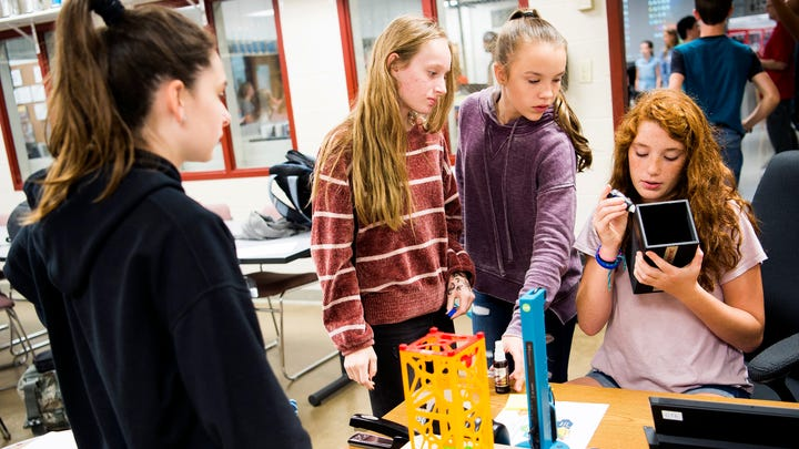 These Tennessee middle school students built a satellite. In 2020, it'll be sent to space.