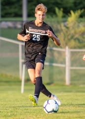 Drew Tappen scored for Brighton in a 6-1 soccer victory over Howell.