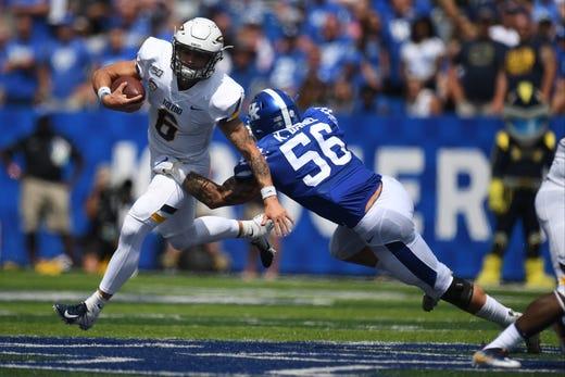 Kentucky football: Kavosiey Smoke has a fitting last name