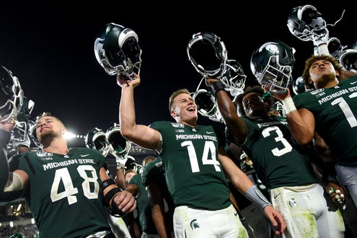 Michigan State Spartans football vs  Tulsa score, highlights