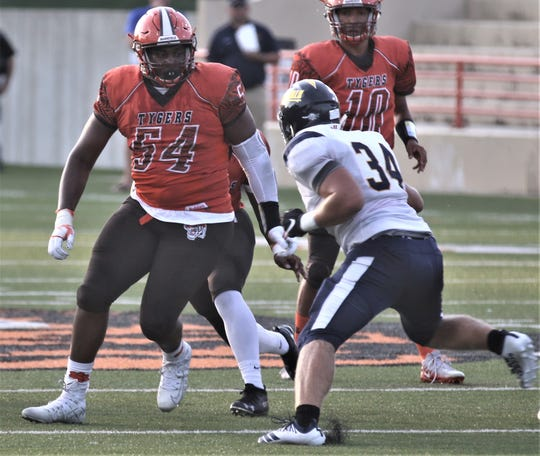 Bowling Green commit Anthony Hawkins returned from injury last week to help the Tygers pick up a huge win over Sandusky with his defensive play.