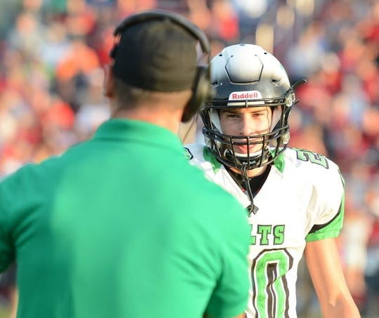 Clear Fork's Brennan South completed 12 of 14 passes for 254 yards and five touchdowns in a Week 1 win over Fredericktown.