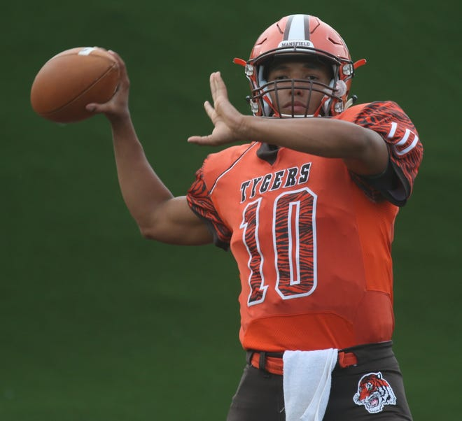 Mansfield Senior's Cameron Todd leads the Tygers into a Week 11 game at home against Bay on Friday night.