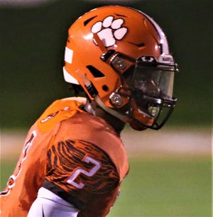 Mansfield Senior's Cyrus Ellerbe provided a spark for the Tygers in a 21-10 win over Norwalk last week.