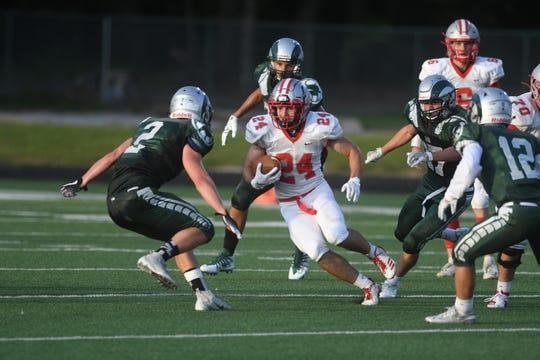 Shelby's Owen Fisher sliced the Madison defense for 215 yards on the ground in Week 1.