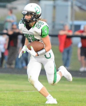 Clear Fork's Ashton Lyon is a returning All-Ohio receiver for the Colts in 2020.