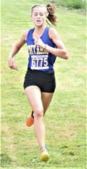 Ontario freshman Brienne Trumpower won her first career race at the Ashland Cross Country Invitational on Saturday.