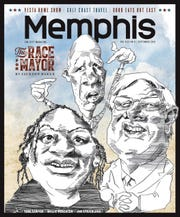 Memphis Magazine's September cover received criticism for its caricatures.