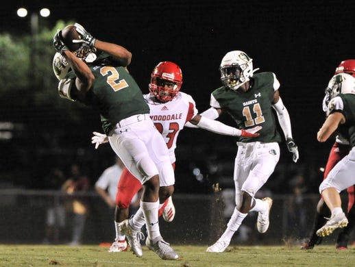 Takeaways: Lausanne's Jackson almost scores epic TD, Briarcrest and Houston stay undefeated
