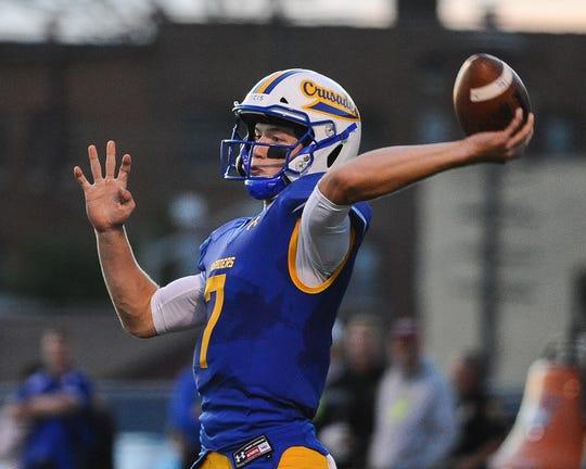 Catholic Memorial quarterback Luke Fox was a first-team selection.