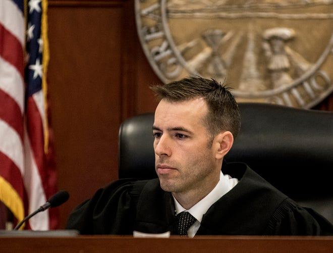 Matthew George is running for municipal court judge.
