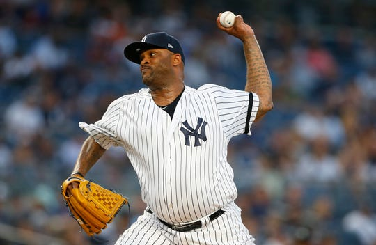 CC Sabathia is scheduled to make his final regular-season start at Yankee Stadium on Wednesday against the Los Angeles Angels.