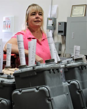 Shari Avent is currently the only female meter mechanic employed by Las Cruces Utilities. She brings 30 years of experience in the gas industry to the community.