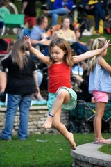 The Milford Concerts in the Park series are canceled for 2020, meaning any young dancing near the LaFontaine Family Amphitheater will be a bit more spontaneous.
