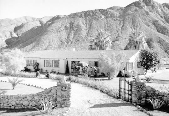 The G.A. Richards home at Smoke Tree Ranch.