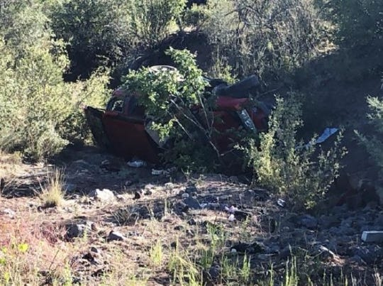 An 18-year-old driver died early Friday, Aug. 30, 2019, in a rollover crash on Williamson Valley Road, just outside of Prescott, according to Yavapai County Sheriff's Office.