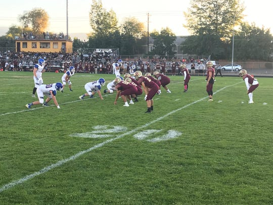 Lowry beat Sparks, 25-7, on Friday night at Sparks.