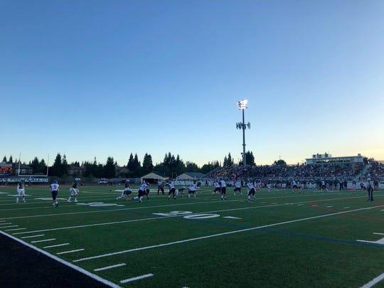 Granite Bay beat Damonte Ranch, 25-7 on Friday night.