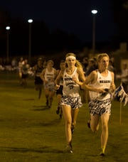 The Nevada Men's Cross Country team competes for the first time in 25 years in the Bonanza Casino Nevada Twilight Classic season opener at Mira Loma Park in Reno on Friday night