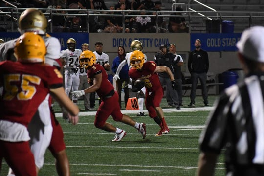 Palma's JT Amaral (6) has been a playmaker throughout the early part of the season on defense for the Chieftains.