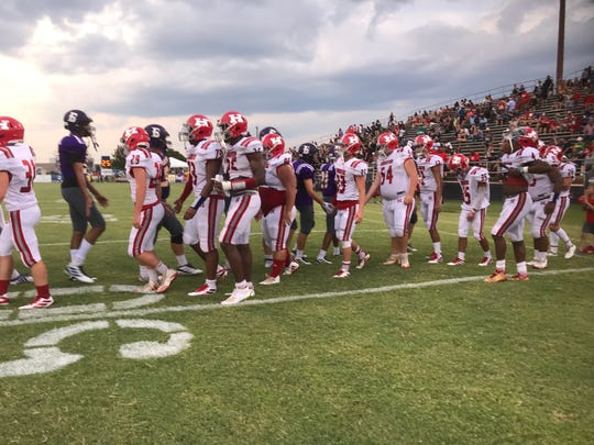 Haughton got past Benton 21-7 in the 66th Bossier Lions Club Jamboree Friday night at  Airline's M.D. Ray Field.