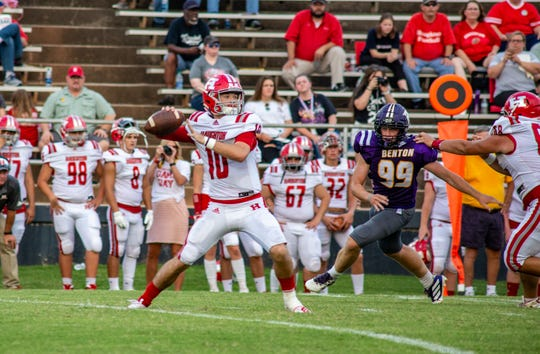 Benton Tigers Vs. Haughton Buccaneers  and  Plain Dealing Lions Vs. Bossier Bearkats Friday evening during the Bossier Lions Jamboree.