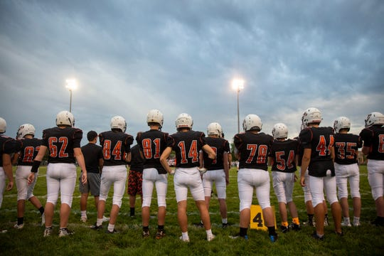 Lennox faces Dell Rapids during their first home game on Friday, Aug. 30.